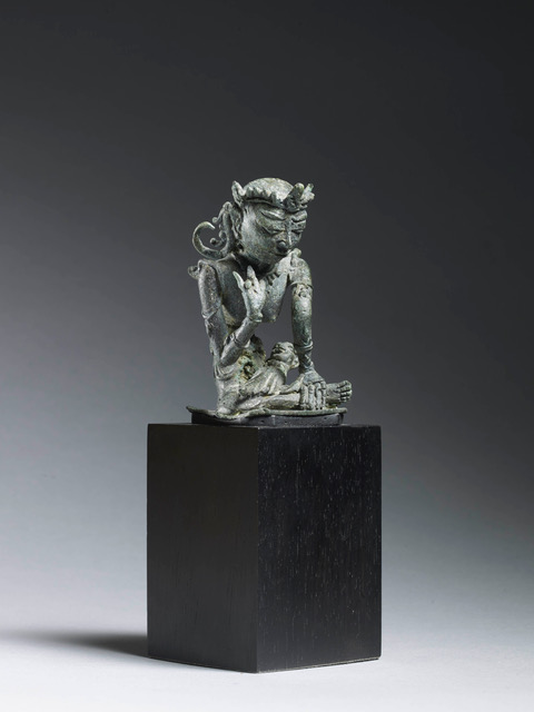 Eastern Java, 12th–14th century Height: 7.5 cm (3 in) Provenance: Tom and Danielle White late 1960s Spink and Son Ltd Professor Samuel Eilenberg, by repute Private collection California
