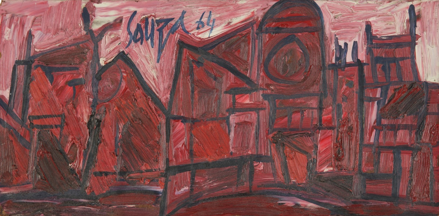 Francis Newton Souza 1924-2002