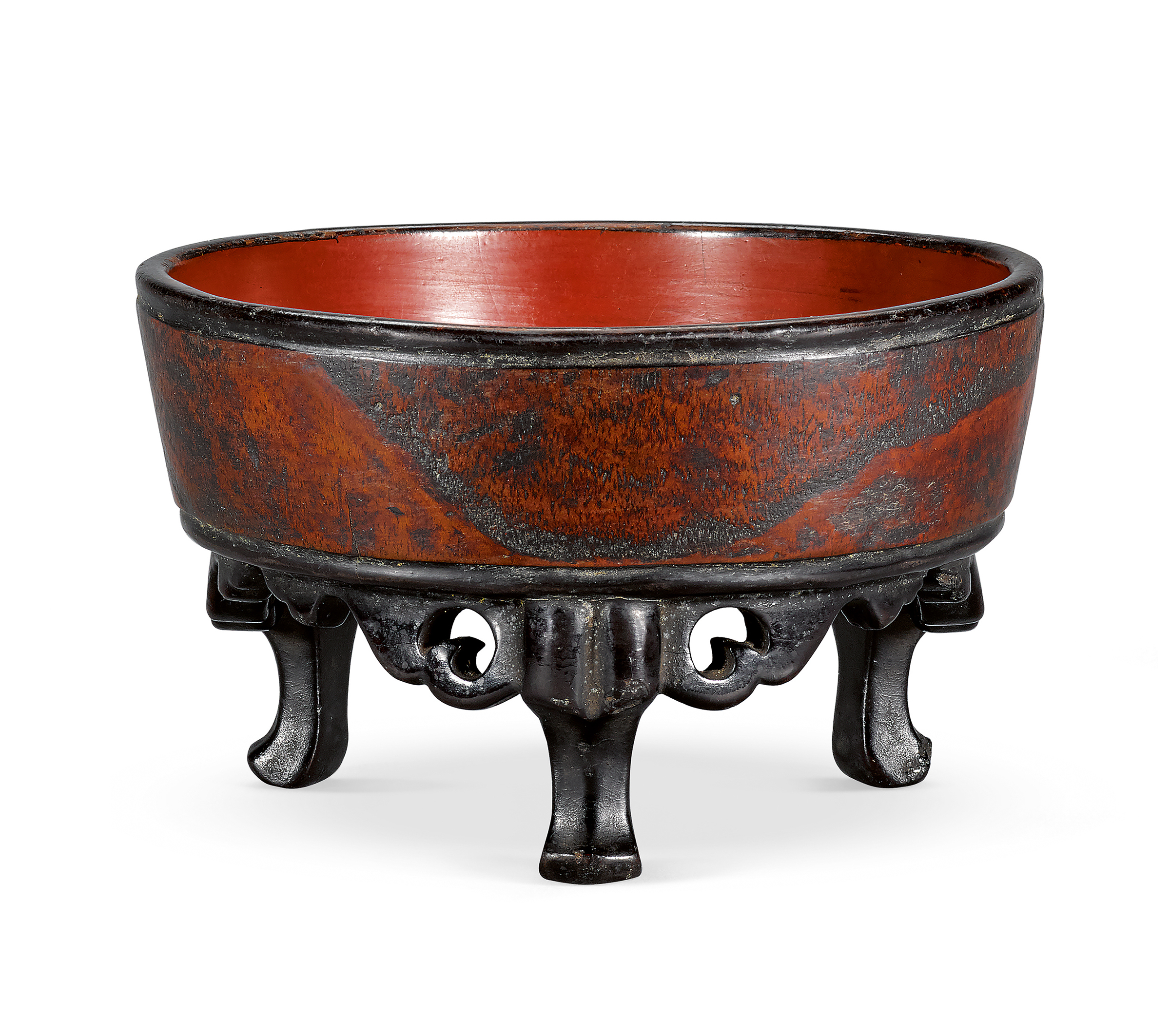 A NEGORO FOOTED BASIN MUROMACHI PERIOD, 14TH -15TH CENTURY