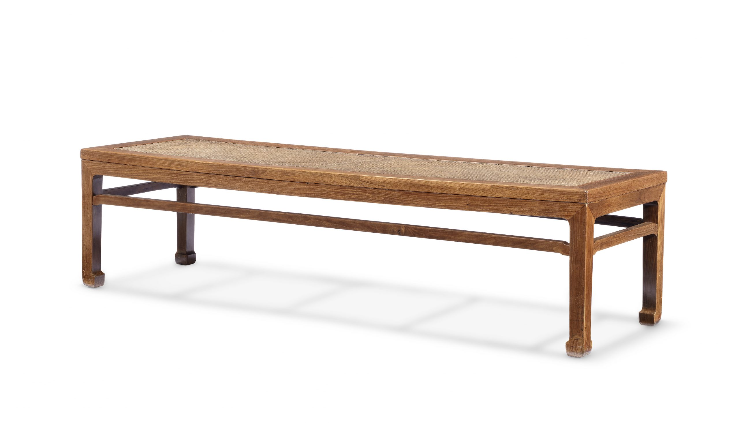 An important and exceedingly rare huanghuali rectangular day-bed, ta, circa 1550-1600 - The H Collection.