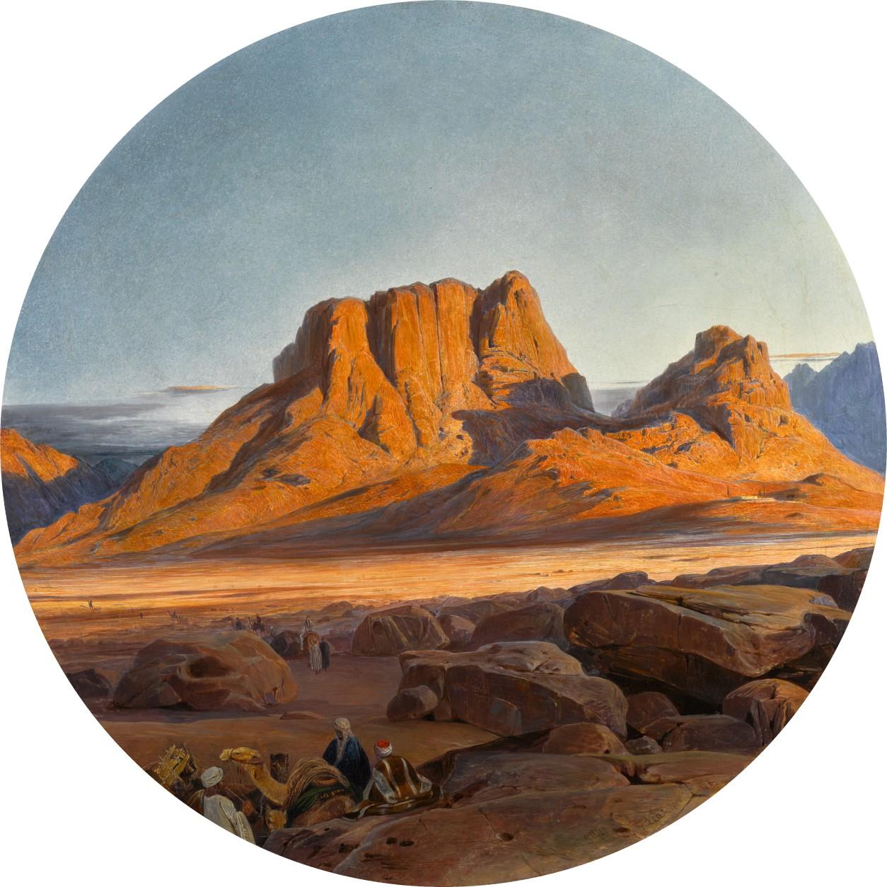 Edward Lear - Mound Sinai