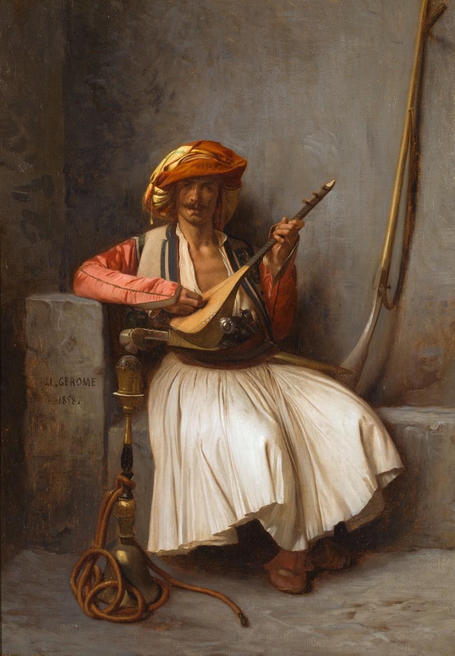 Jean-Léon Gérôme - Lute Player
