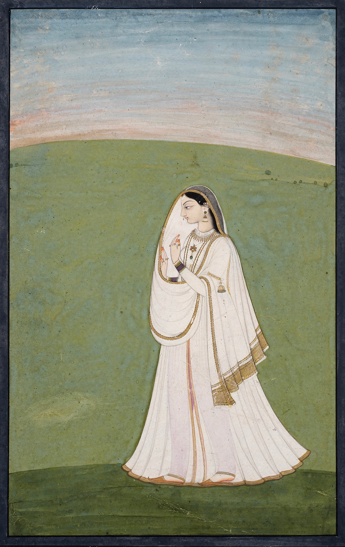 AN ILLUSTRATION TO A NAYIKA SERIES 