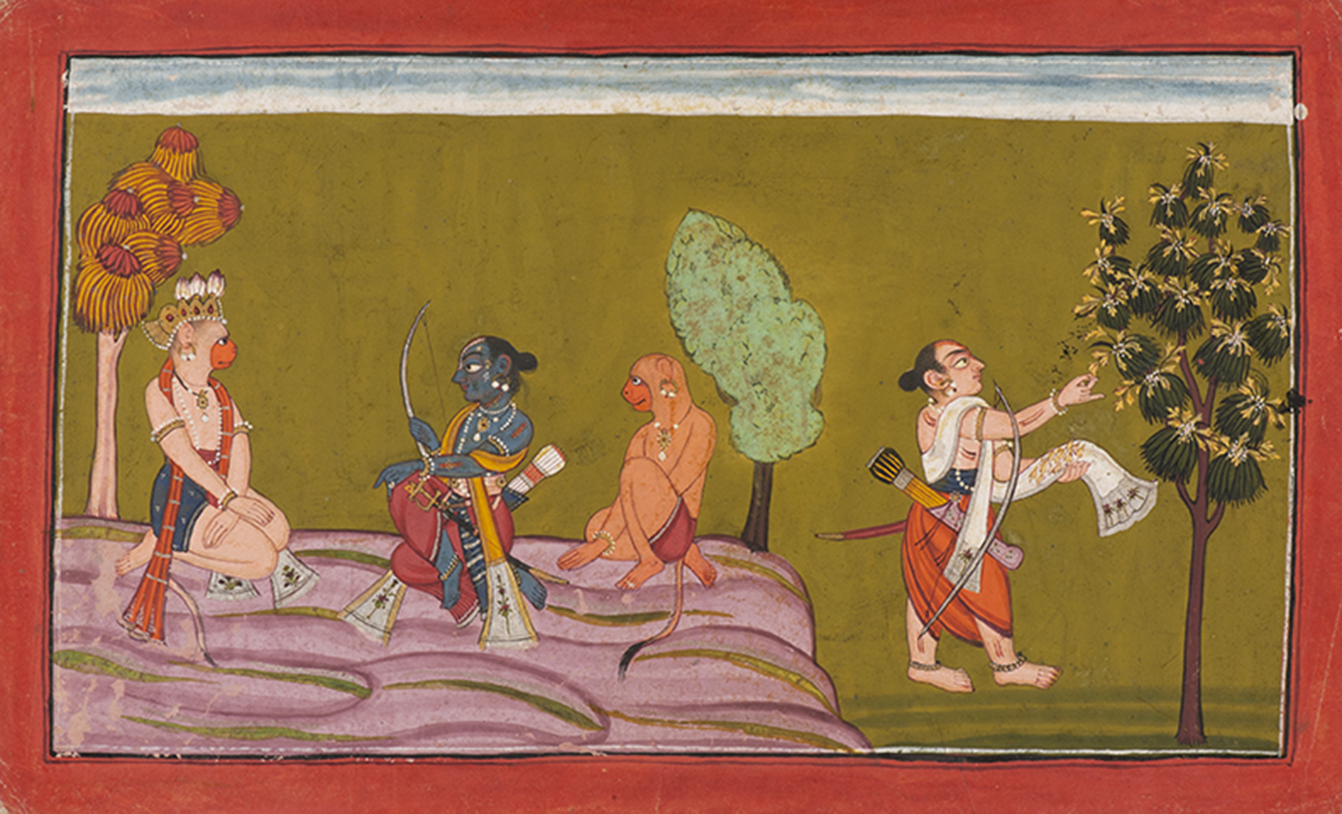 AN ILLUSTRATION TO THE SHANGRI RAMAYANA