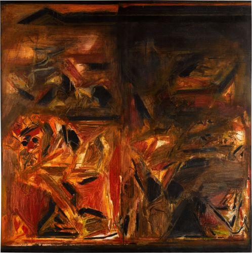 Sayed Haider Raza, Untitled, 1979