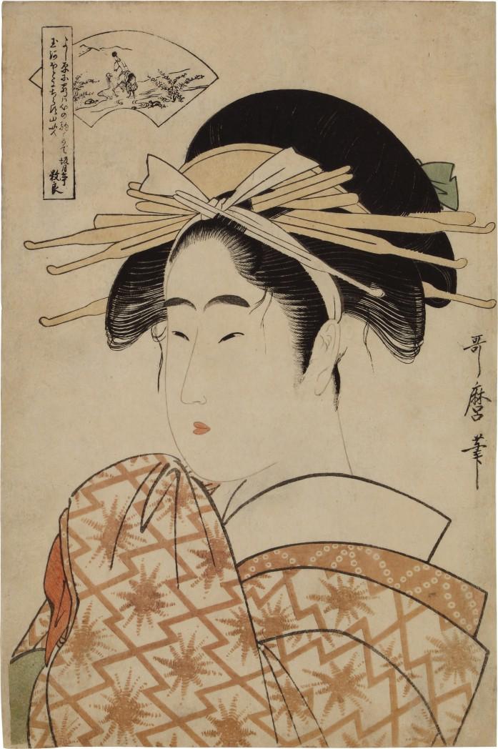 Kitagawa Utamaro (1754-1806)   The Ide Jewel River, Edo period, late 18th century