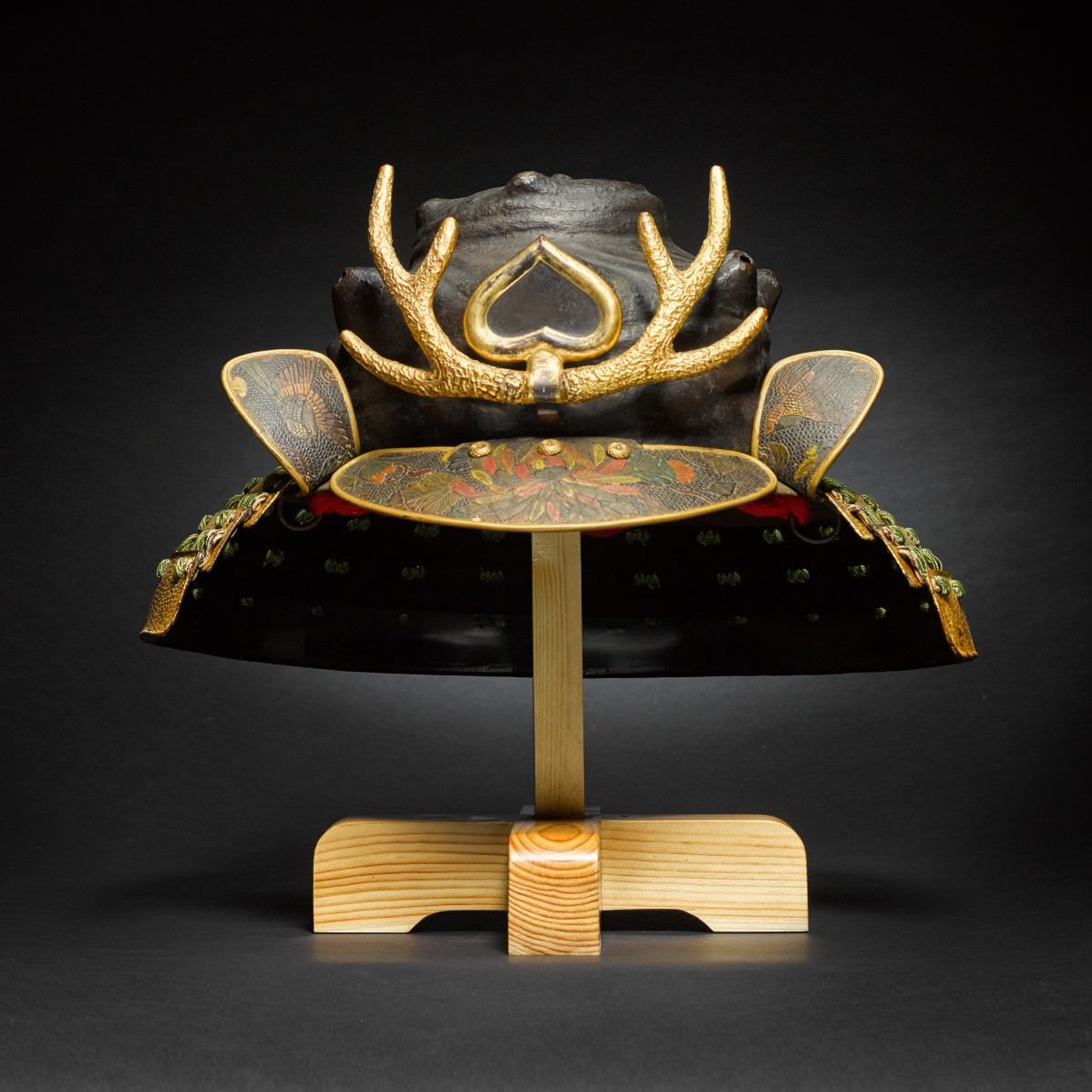 A Kawari kabuto [unusually shaped helmet] Edo period, 17th – 18th century