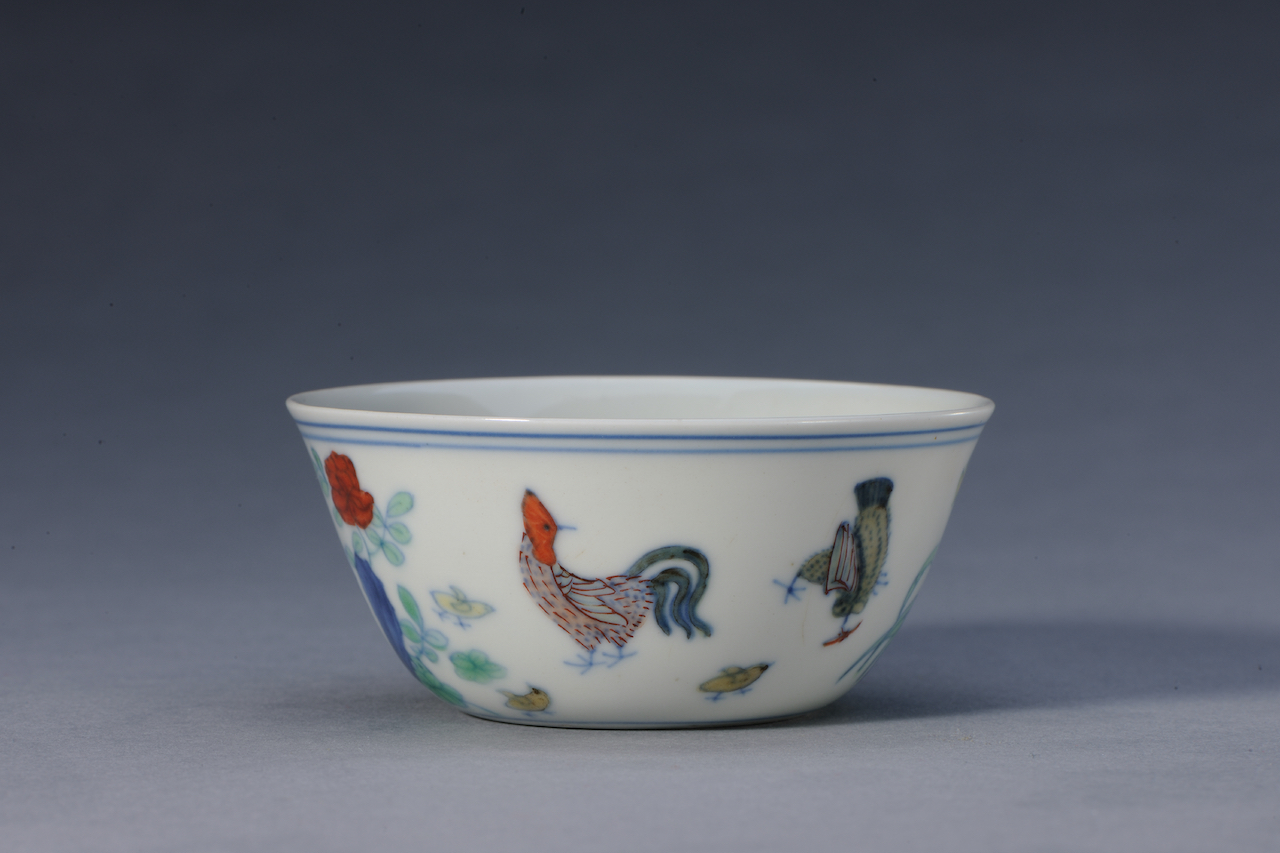 Palace Museum Chicken Cup - 2 Nov 全形_成化款斗彩鸡缸杯