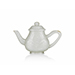 A rare pale celadon jade teapot and cover