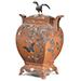 An exceptional, large and finely inlaid bronze futamono (lidded ornamental vessel), Attributed to Kiryu Kosho Gaisha, Meiji Era, 1880-1890's
