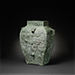 A very rare and large archaic bronze ritual wine vessel