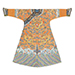 An extremely rare Imperial heir-apparent apricot-ground dragon robe