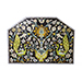 Large Timurid Ceramic Mosaic Tile, seventeenth century, or earlier, Isfahan, Iran