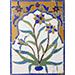 A Mughal Cut-Mosaic Tile Panel, North India/Pakistan, seventeenth century