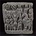 Parinirvana scene, Grey schist, Gandhara, late 1st/early 2nd century