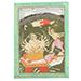 An illustration from a Bhagavata Purana series