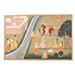An illustration to a Ramayana series