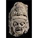 Head of the Goddess Chamunda, Sandstone, Northwest India, Rajasthan, early 11th century