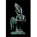Kinnara, Bronze, Central Java, 9th/10th century