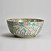 Canton punch bowl