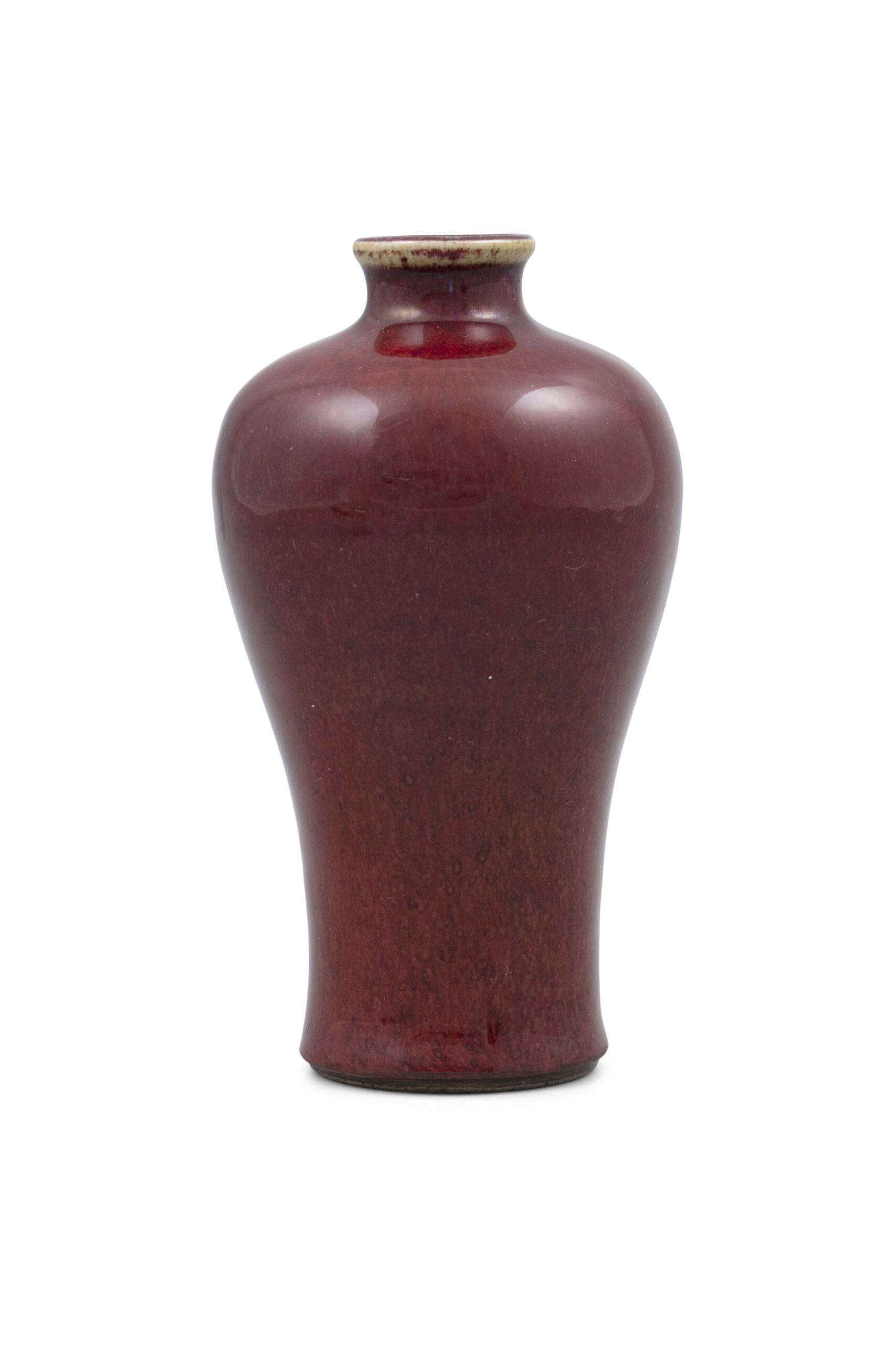 A FLAMBE MEIPING VASE, CHINA, QING DYNASTY, KANGXI PERIOD