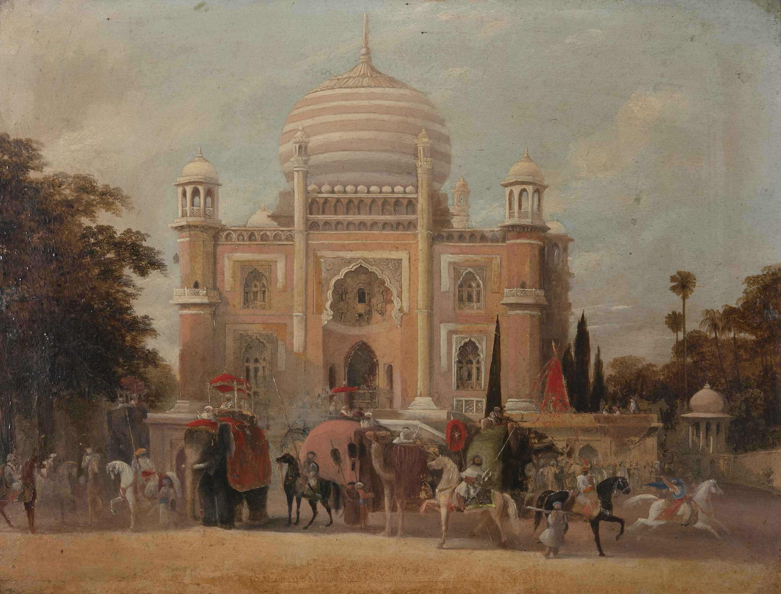 ENGLISH SCHOOL, ATTRIBUTED TO CAPTAIN ROBERT MELVILLE GRINDLAY (1786-1877)