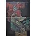 "Katsunori Hamanishi - ""Kimono - Ryu and Carp"" (Diptych) - 2012, Mezzotint, Ed of 70, Sheet size 102 x 76 cm"