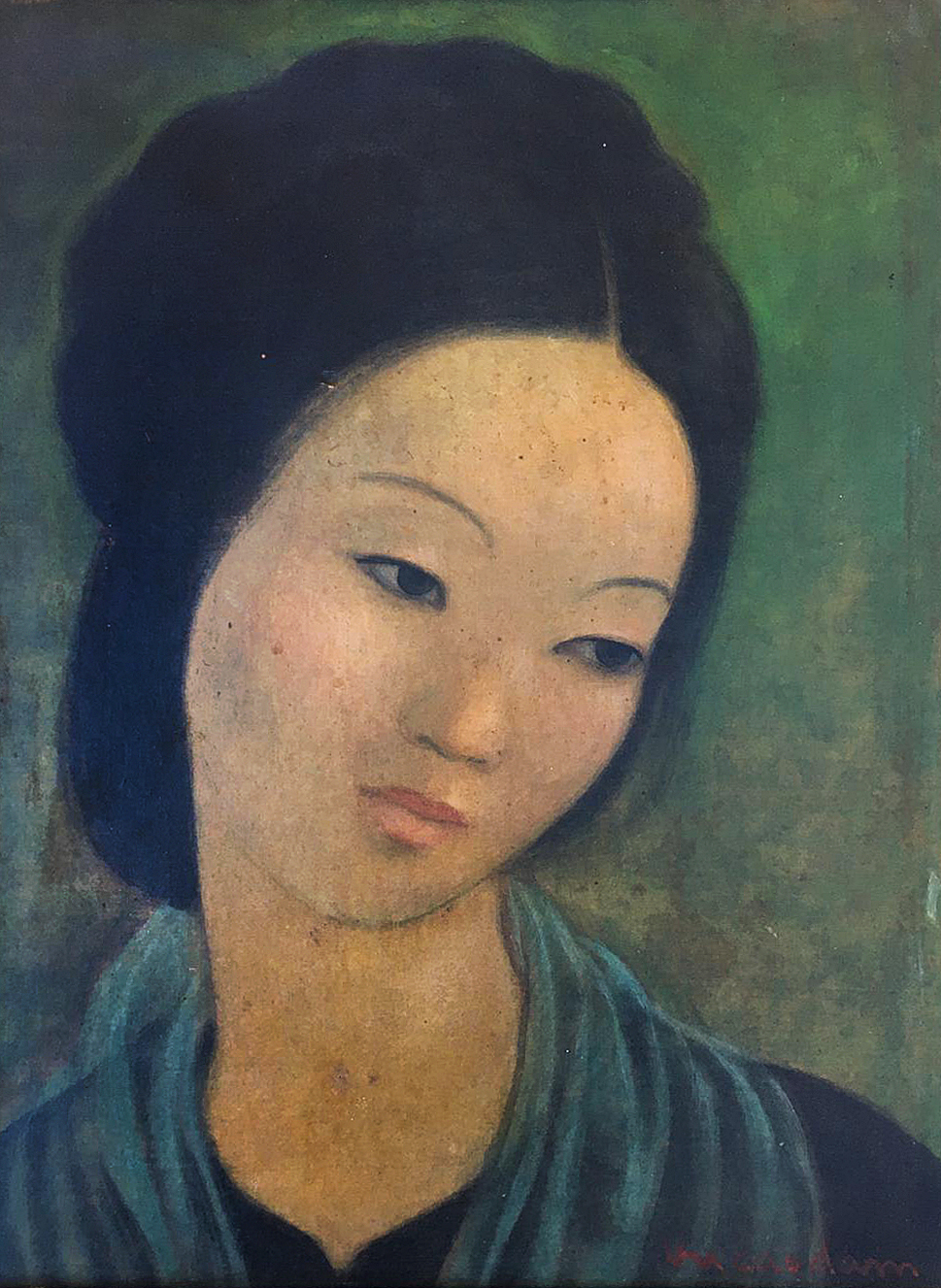 VU CAO DAM 武高谈 (1908-2000), INDOCHINA FINE ARTS COLLEGE, 7TH PROMOTION (1931)