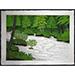"Kazuyuki Ohtsu - ""Mountain Stream Oirase"" - 2010, Woodcut, Ed of 100, Sheet size 45 x 61 cm"