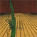 "Nana Shiomi - ""Mitate No.13 - Solitude"", 1999, Woodcut, Ed of 10, Sheet size 46 x 46 cm"