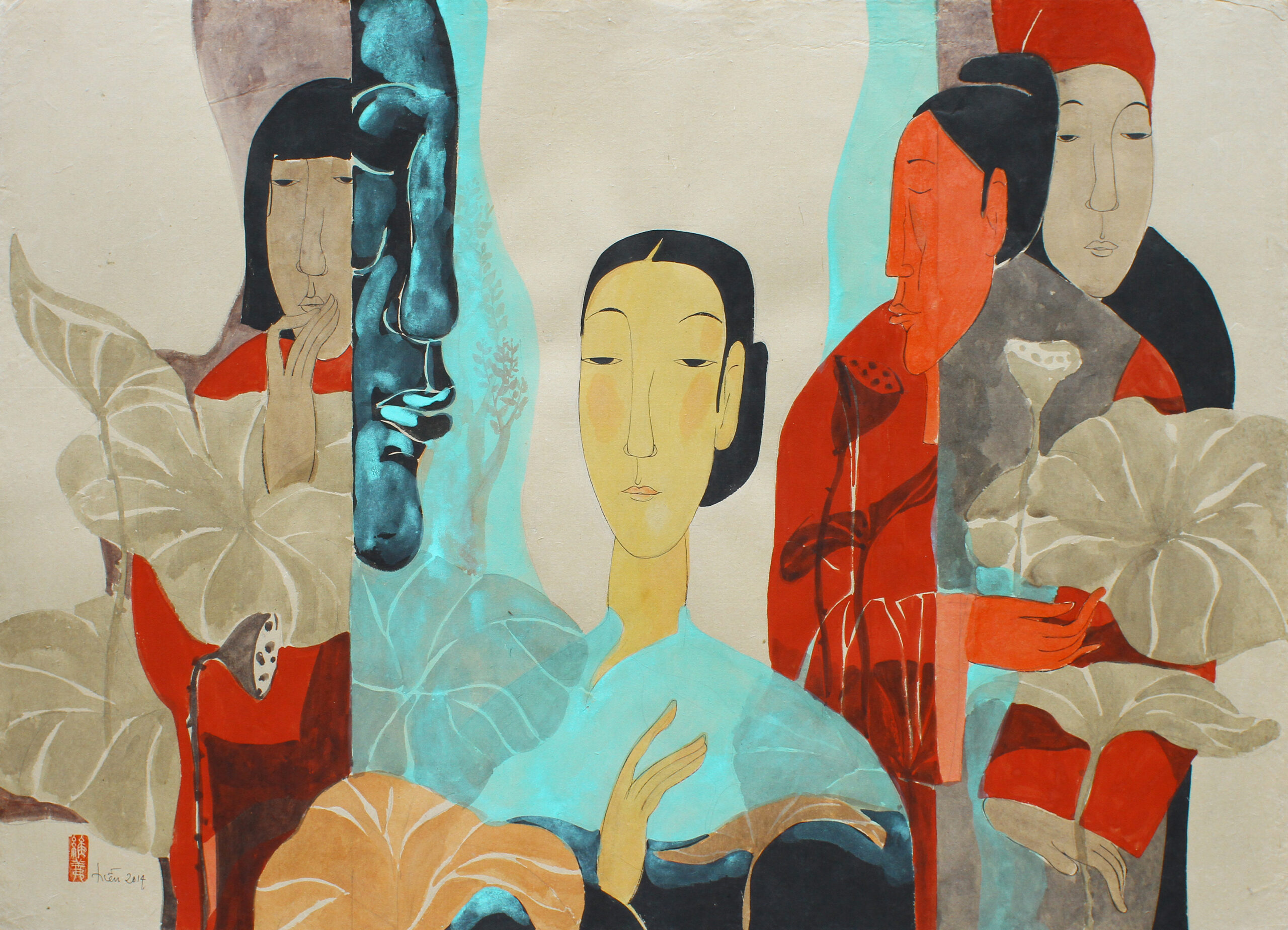 RAQUELLE AZRAN VIETNAMESE FINE ART